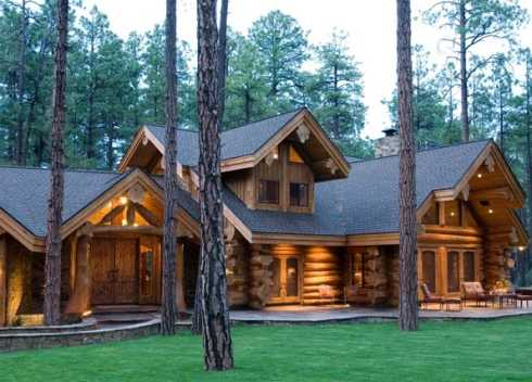 Log Cabin Houses on luxury million dollar house plans