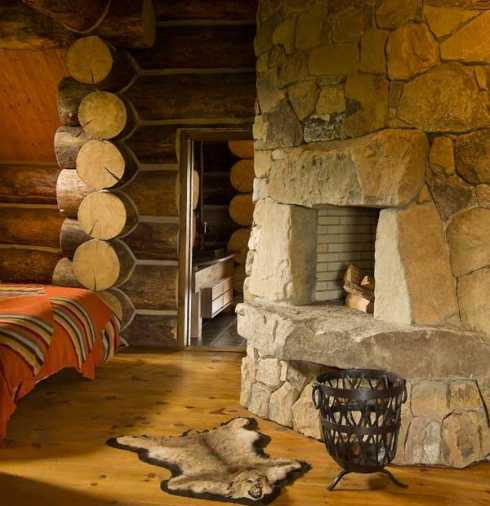 Log cabin interior design an extraordinary rustic for Decorate log cabin interior