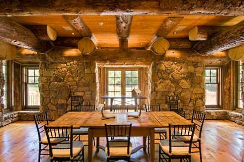 Log cabin interior design an extraordinary rustic - Interior pictures of small log cabins ...