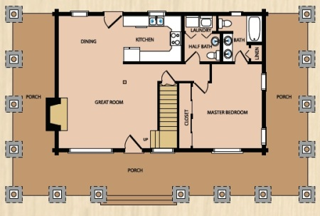 log cabin kit homes