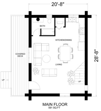 Fabulous One Room Cabin Floor Plans Largest Home Design Picture Inspirations Pitcheantrous