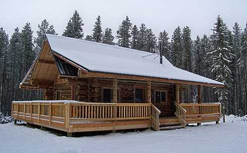 add new images of log cabin mobile homes to