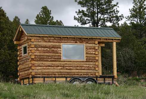 Log Cabin Mobile Homes . . . Log Cabins To Go!