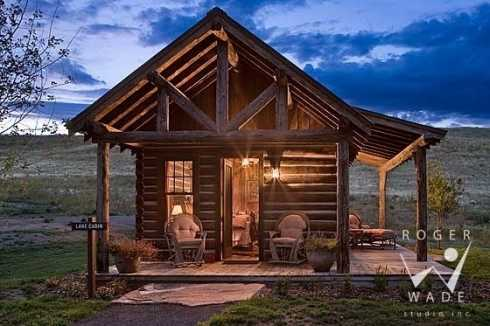 Log cabin pictures favorite small log cabins for Rustic log home kits