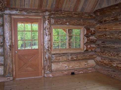 Log Cabin Style Mobile Homes Well Rounded Walls On
