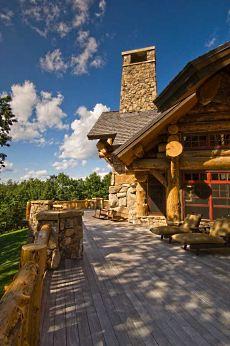 log home house plans