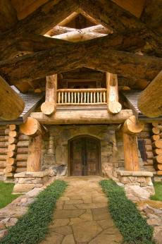 log home house plans