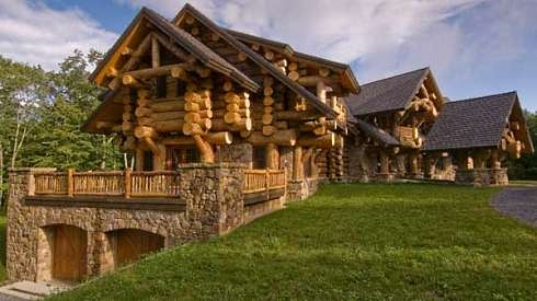 Log Home House Plans . . . A Monumental and Majestic Masterpiece!
