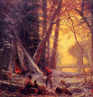 moose hunters camp