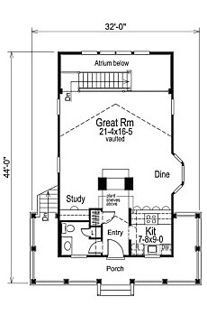Small Cabin Floor Plans on small homes design and plans