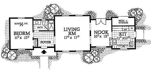 small cabin floor plans - Cottage Floor Plans