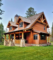 small log home plans