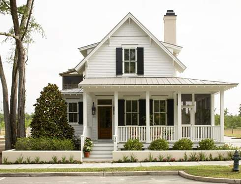 Small cottage plans farmhouse style for Small modern farmhouse