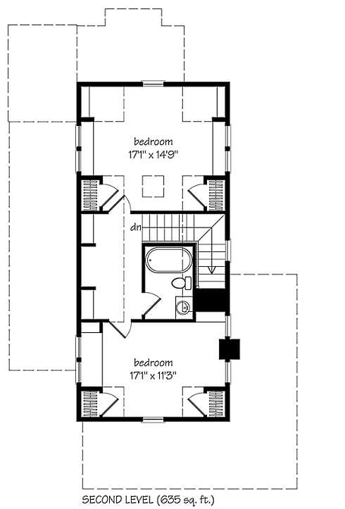Small Cabin Designs And Floor Plans | Small Cottage Plans Farmhouse Style