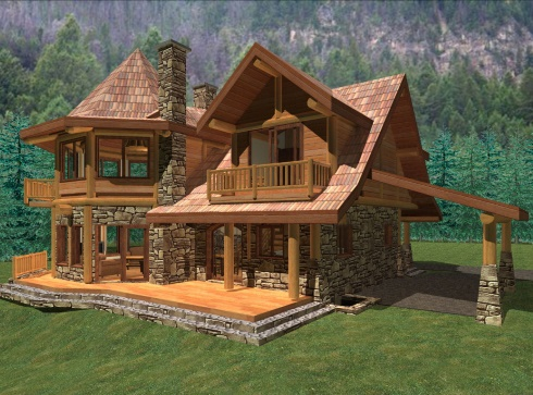 Small House Plan A Storybook Cabin Cottage