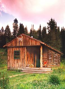 small log cabin designs