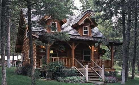 Small Log Cabin PlansStorybook Style for Living Happily Ever After