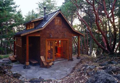 More small cabins little spaces picture perfect places Tiny cabin