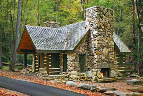More small cabins little spaces picture perfect places for Best small cabin designs