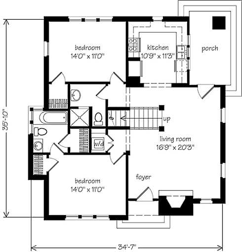 pics for stone cottage plans