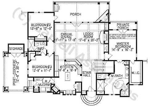 stone cottage plans