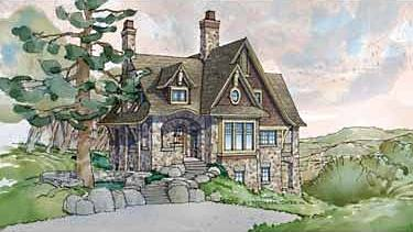 Stone Cottage Plans. See More Picturesque English Cottage House ...