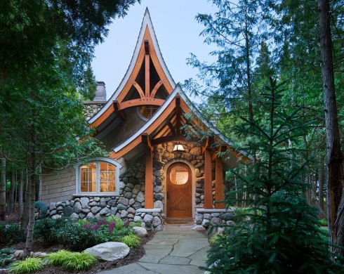 STORYBOOK COTTAGE HOME PLANS