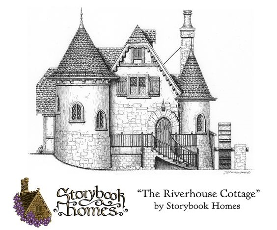 storybook cottage house plans