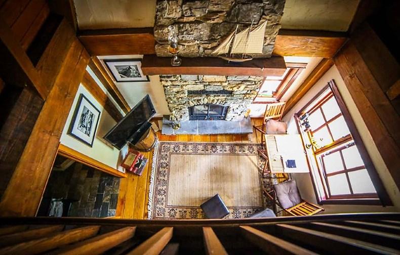 storybook cottage interior
