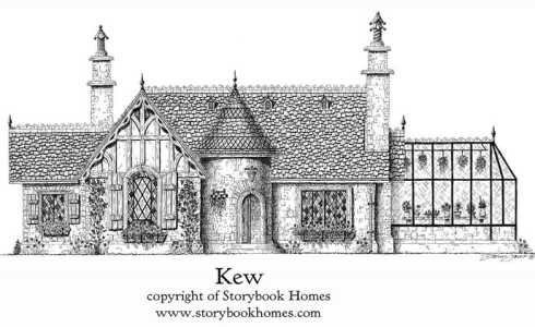 Storybook Stone Cottage House Plans