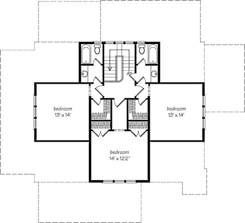 Storybook house plans cozy country cottages for Country cottage floor plans