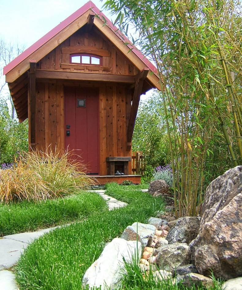 tiny fishing cabin plans
