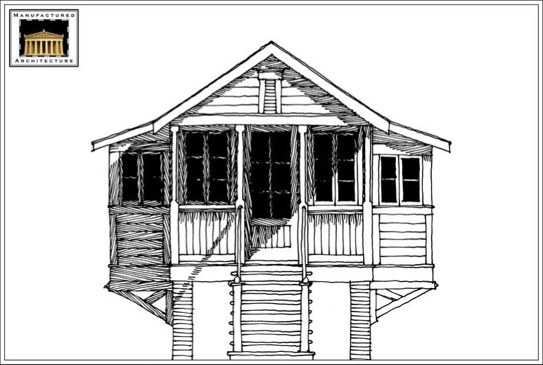 tiny fishing cabin plans