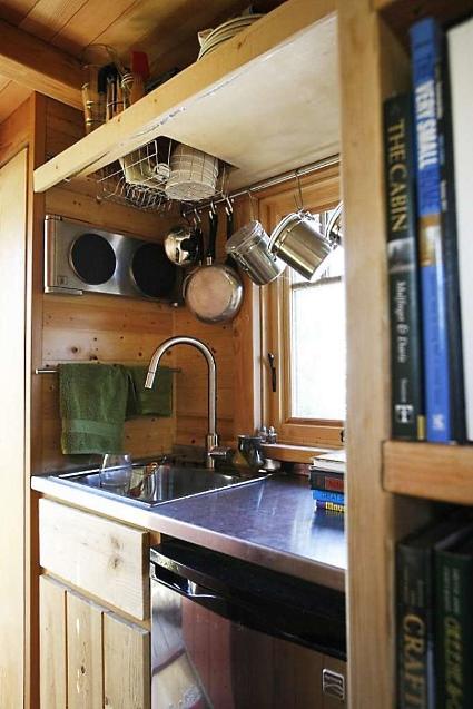 tiny fishing cabin