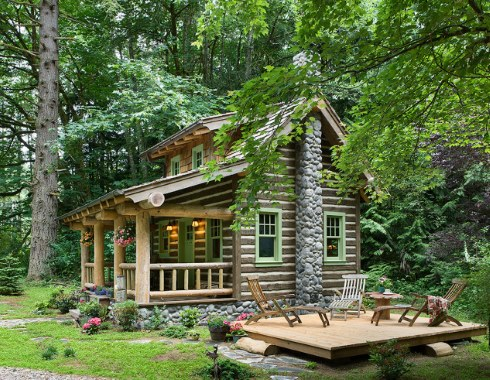Tiny House Designs A Fairy Tale Log Cabin