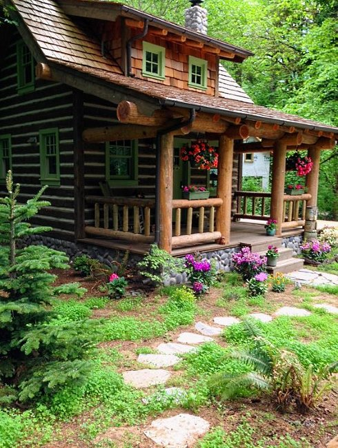 Standout Cabin Designs : Tiny house designs a fairy tale log cabin