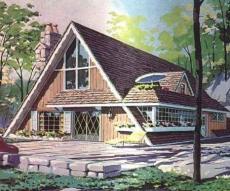 a frame cabin designs