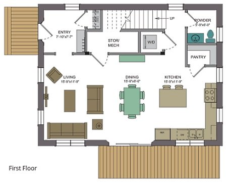 Barn style house plans in harmony with our heritage for Open floor plan barn homes