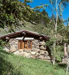 Or A Rustic Mountain Retreat.
