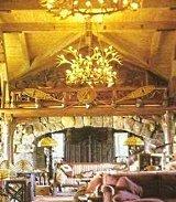cabin fireplace designs
