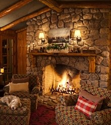 cabin fireplace newsletter