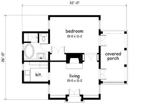 cozy cabin floor plans you can use to make your getaway