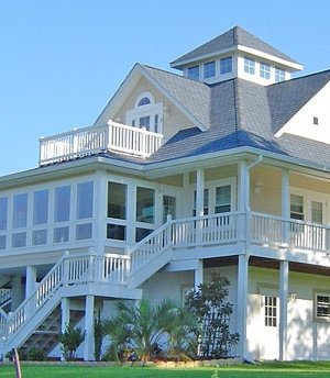 Coastal Homes Plans Elevated House Design Plans