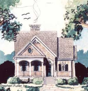 Standout Cottage Plans . . . Country, Casual & Coastal!