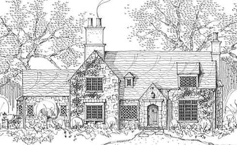 Storybook Style House Plans