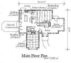 english cottage floor plan