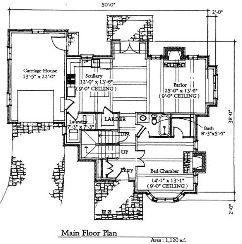 english cottage house plans