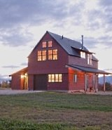Pole barn house plans post frame flexibility Barn guest house plans