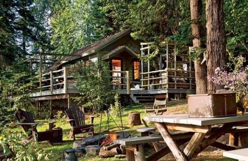 fishing cabins