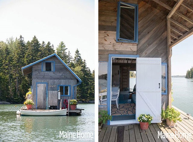 floating cabins